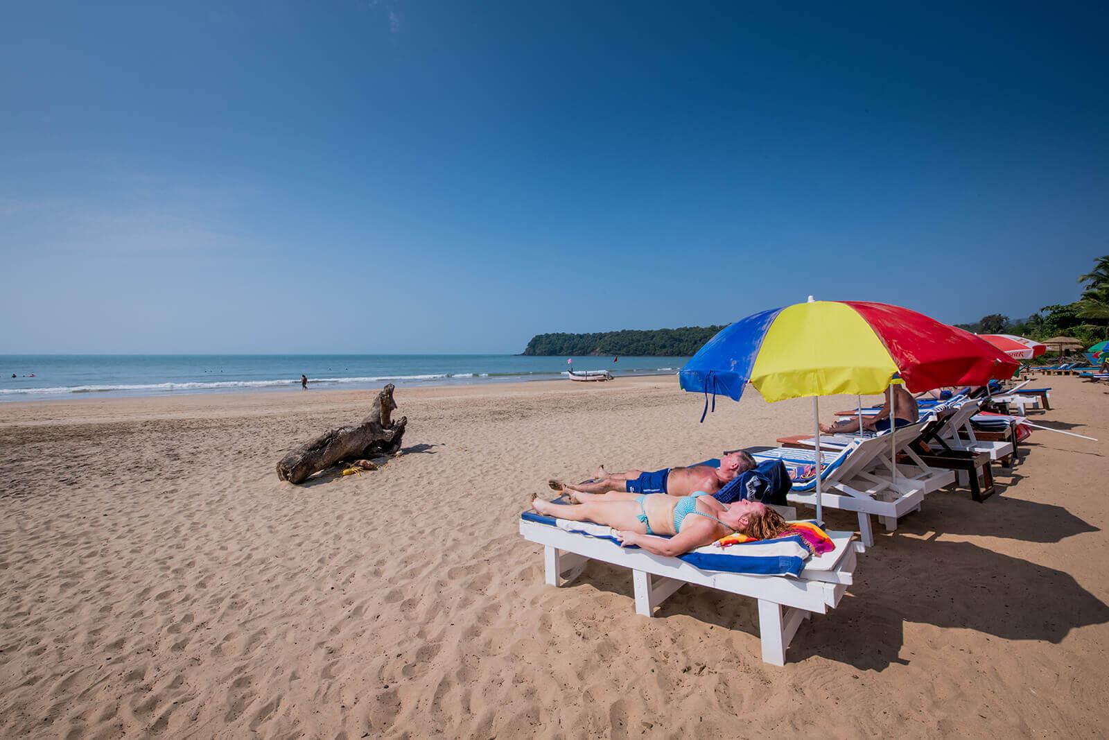 Om Sai Beach Huts- Agonda Beach Goa, Best Beach Cottages in