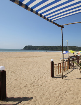 Agonda Beach in Daylight