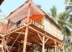 Sea View Huts at Agonda